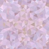 Kalejdoskopisk låg poly mosaik för triangelstilvektor Fotografering för Bildbyråer