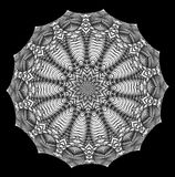 Kalejdoskopisk modell, mandala Royaltyfri Bild