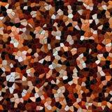 Kalejdoskopisk sömlös frambragd hyratextur för Glass mosaik Arkivbilder