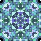 Kalejdoskopowa multicolor deseniowa tekstura ilustracji
