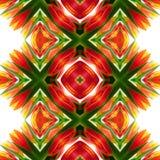 Kalejdoskopowej mozaiki bezszwowa tekstura lub tło Obrazy Stock