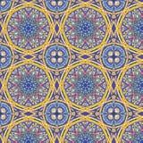 Kalejdoskopowy abstrakcjonistyczny bezszwowy wzór Obrazy Stock