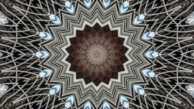 Kalejdoskopowy przemysłowy metalu fan ilustracji