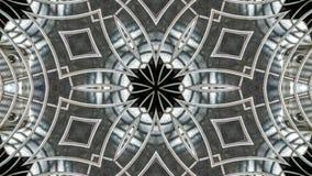 Kalejdoskopowy przemysłowy metalu fan royalty ilustracja