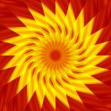 kalejdoskopowy słońce royalty ilustracja
