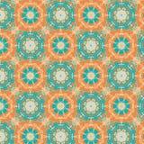 Kalejdoskopowy tapetowy bezszwowy wzór Obrazy Stock