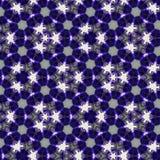 Kalejdoskopu abstrakcjonistyczny tło gwiazdy noc dla sztandaru lub sieci Fotografia Stock