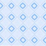 Kalejdoskopu Błękitny bezszwowy wzór dla Twój Desing Royalty Ilustracja