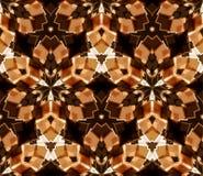 kalejdoskopu bezszwowy deseniowy Komponujący kolorów abstrakcjonistyczni kształty ilustracja wektor