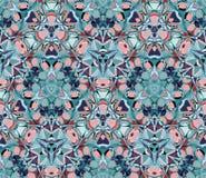 kalejdoskopu bezszwowy deseniowy Komponujący kolorów abstrakcjonistyczni kształty ilustracji