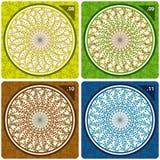 kalejdoskopu kolorowy wektor Zdjęcie Stock