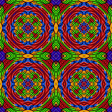 Kalejdoskopy jednoczący kolory Ilustracja Wektor