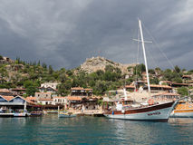 Kalekoy Turkey Stock Image