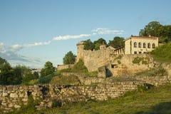 Kalemegdan堡垒在贝尔格莱德塞尔维亚 免版税图库摄影