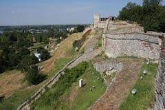 Kalemegdan堡垒在贝尔格莱德,塞尔维亚 库存图片