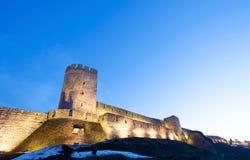 Kalemegdan堡垒贝尔格莱德,塞尔维亚 免版税图库摄影