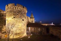 Kalemegdan堡垒贝尔格莱德,塞尔维亚 库存照片