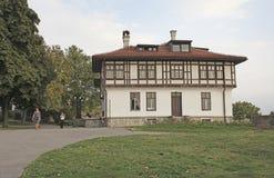 Kalemegdan堡垒,贝尔格莱德,塞尔维亚 免版税库存图片