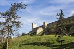 Kalemegdan堡垒  免版税库存照片