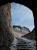 kalemegdan的堡垒 免版税库存照片
