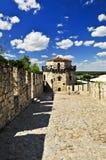 kalemegdan贝尔格莱德的堡垒 库存照片