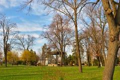 Kalemegdan, Белград, Сербия - сцена в предыдущей весне стоковая фотография rf