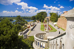 Kalemegdan  in Belgrade. Kalemegdan fortress in Belgrade, Serbia Stock Photos