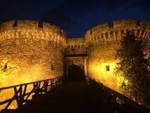 Kalemegdan belgrade. Belgrade kalemegdan castle gate bridge serbia srbija balkan evening royalty free stock photos
