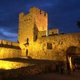 Kalemegdan belgrade. Belgrade kalemegdan castle gate bridge serbia srbija balkan evening stock images
