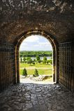 kalemegdan belgrade fästning Arkivfoto
