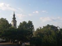 Kalemegdan crkva saborna εκκλησιών στοκ εικόνες