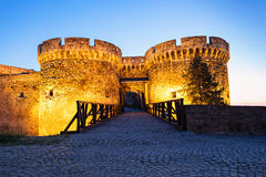 kalemegdan fästning arkivbild