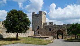 Kalemegdan fästning i Belgrade, Serbia Arkivbilder
