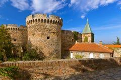 Kalemegdan fästning i Belgrade - Serbien arkivbilder