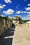 Kalemegdan Festung in Belgrad Stockfotos