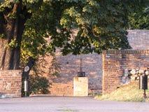 Kalemegdan-Festung in Belgrad auf Sommer lizenzfreie stockfotos