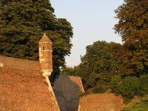 Kalemegdan-Festung in Belgrad im Sommer lizenzfreie stockbilder