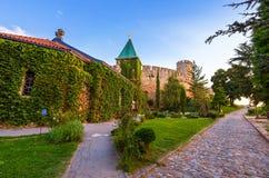 Kalemegdan-Festung Beograd - Serbien stockfotos