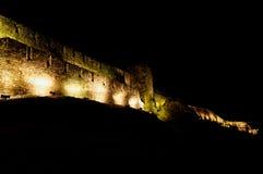 Kalemegdan Festungs-Nachtpanorama Lizenzfreies Stockbild
