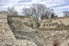 Kalemegdan-Festungsruinen Lizenzfreie Stockfotos