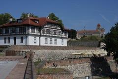Kalemegdan fort w Belgrade, Serbia obrazy royalty free
