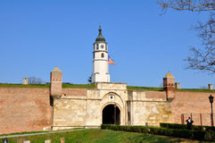 Kalemegdan Fortess, Belgrado Royalty-vrije Stock Foto
