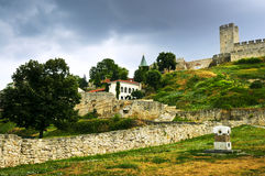 Kalemegdan fortress in Belgrade Stock Photo