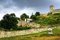 Kalemegdan fortress in Belgrade. Walls and towers of Kalemegdan fortress in Belgrade Serbia Stock Photo