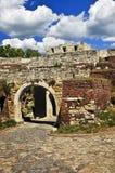 Kalemegdan fortress in Belgrade. Walls and towers of Kalemegdan fortress in Belgrade Serbia Stock Photos