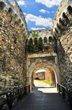 Kalemegdan fortress in Belgrade. Walls and towers of Kalemegdan fortress in Belgrade Serbia Stock Photography