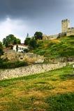Kalemegdan fortress in Belgrade. Walls and towers of Kalemegdan fortress in Belgrade Serbia Royalty Free Stock Image
