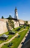 Kalemegdan Fortress, Belgrade. Kalemegdan Fortress and its clock tower, Belgrade, Serbia stock photo