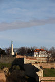 Kalemegdan fortress in Belgrade Stock Photos