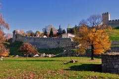 Kalemegdan fortress in Belgrade Royalty Free Stock Photography